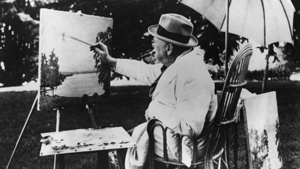 Winston Churchill pintor
