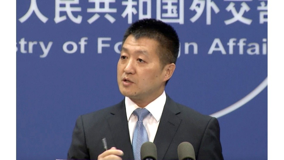 Lu Kang - Lu Kang, spokesman of the Chinese Ministry of Foreign Affairs, speaks to reporters about the international tribunal