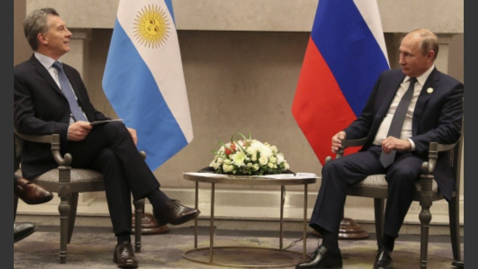 Macri y Putin alentaron un mayor intercambio bilateral