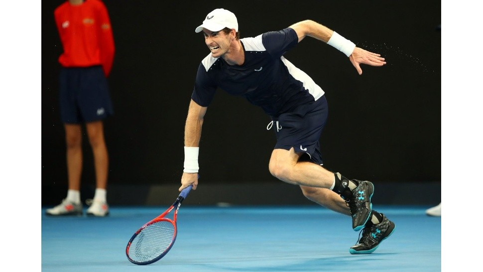 Andy Murray perdió en el debut y se despidió del primer Grand Slam del año