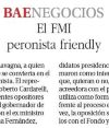El FMI peronista friendly