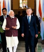 Macri invitó a India a invertir en Vaca Muerta
