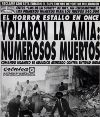 AMIA: la noticia del horror
